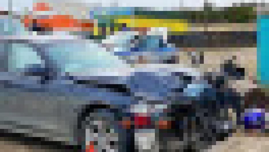 Трое подростков на мотоцикле пострадали в ДТП. Красноярский край.