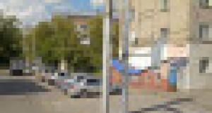 Ул. Деповская в Барнауле.