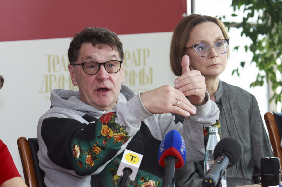 Пресс-конференция театра им. Вахтангова