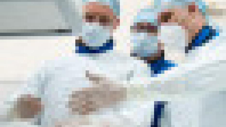 Операция гастростомии в БСМП.