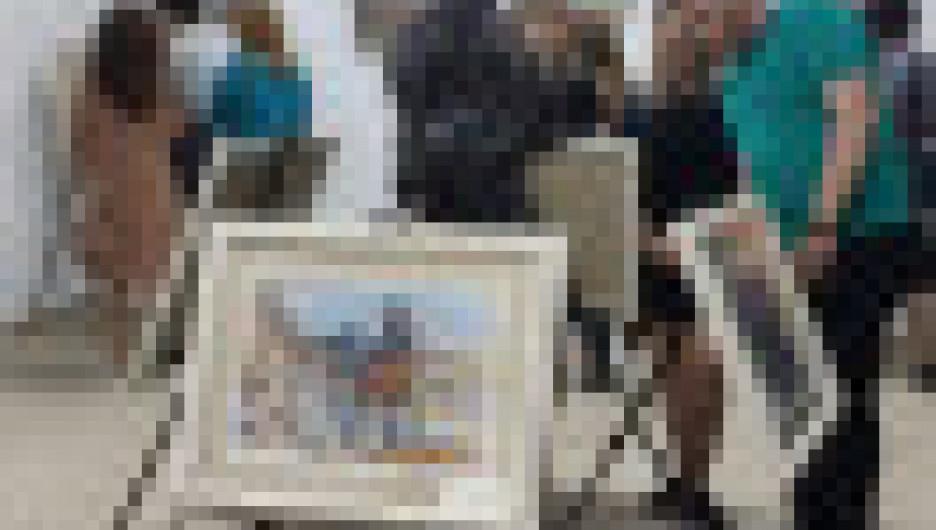 Передвижная выставка «Индустриальный пейзаж России и люди труда».
