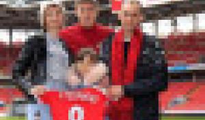 Александр Соболев и семья Стебуновых.