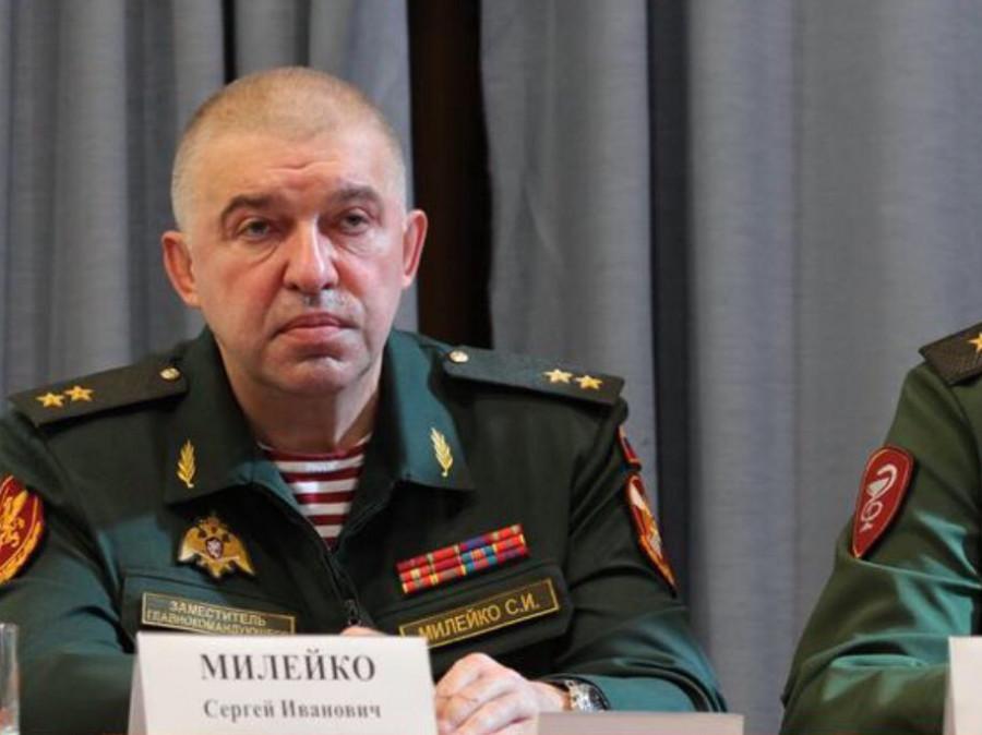 Бравый генерал Сергей Милейко.
