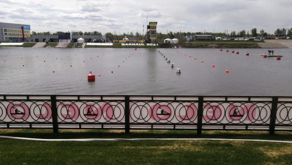 Гребной канал в Барнауле.