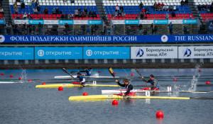 Второй день на международных соревнований по гребле на байдарках и каноэ в Барнауле