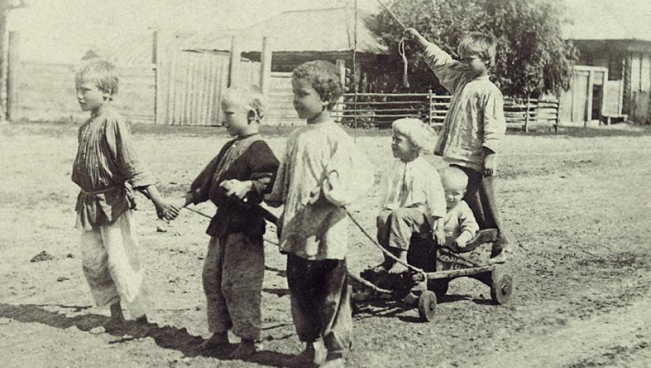 Дети, конец XIX века.