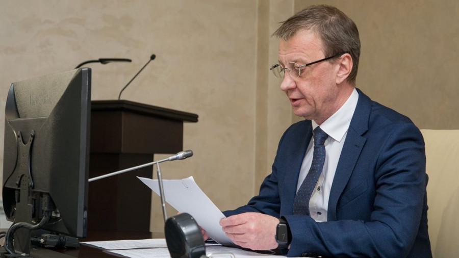 Глава Барнаула Вячеслав Франк.