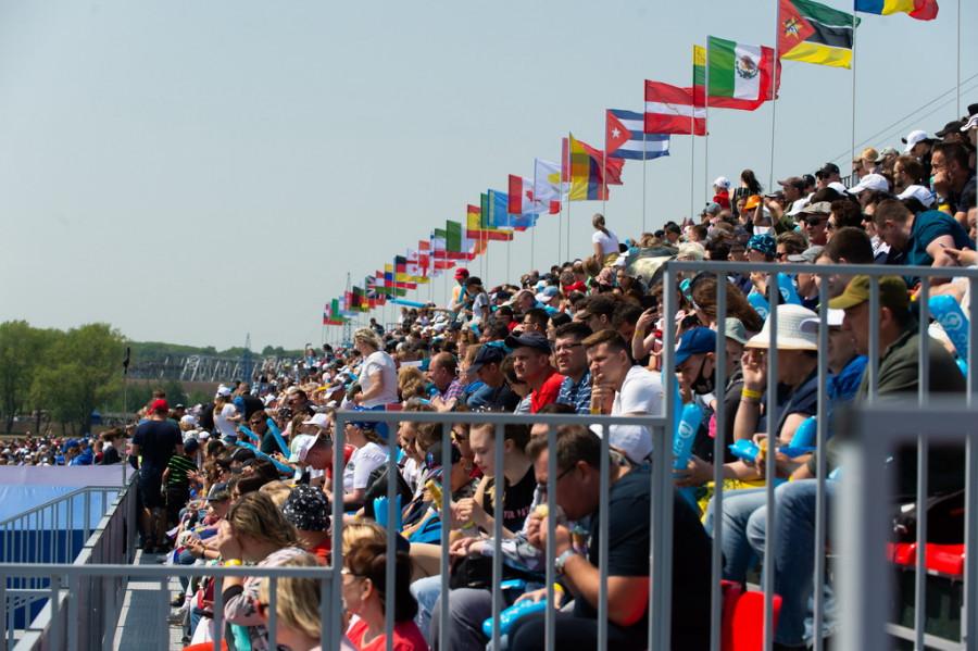 Этап Кубка мира по гребле в Барнауле.