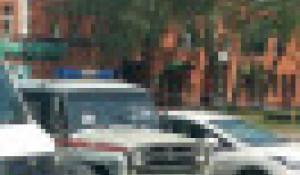 ДТП с участием автобуса и автомобиля «Росгвардии».