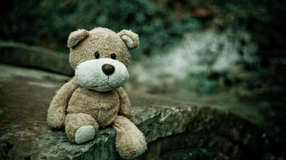 Игрушка. Плюшевый медведь.