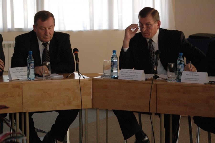 Александр Карлин и Николай Чертов