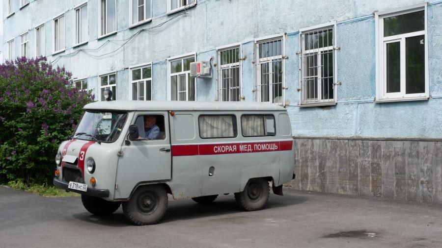 Новоалтайская городская больница.