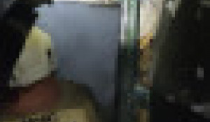 Пожар в Барнауле ночью 5 июня.
