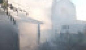 Пожар в Барнауле 7 июня.
