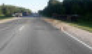 Авария на трассе Барнаул - Новосибирск.