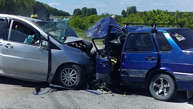 Авария в Искитимском районе.