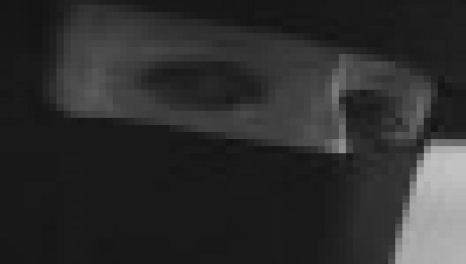 Кадр из работы лаборатории видеопоэзии на стихи Рождественского