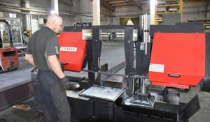 Новый цех заготовки метала