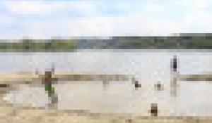 Барнаульские пляжи. Фоторепортаж 2021.