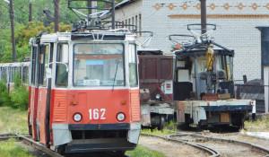 Старый трамвай. Бийск.