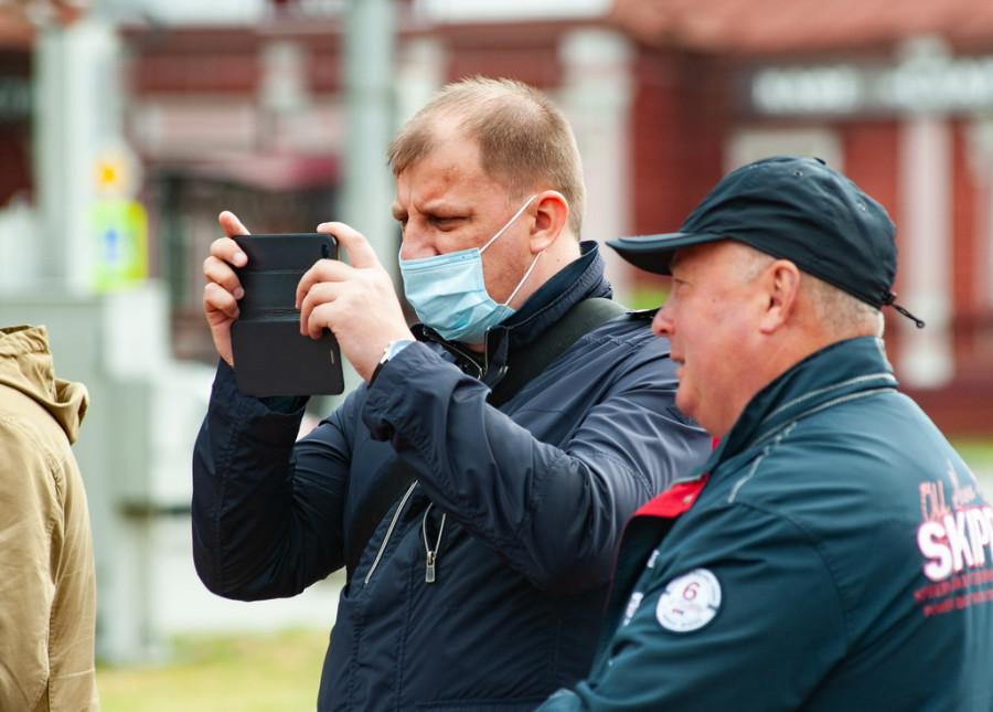 Антон Воробьев и Сергей Шумов.