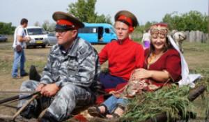 Казаки в Алтайском крае.