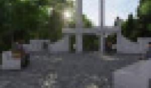 Рендер проекта-участника конкурса творческих работ благоустройства парка «Юбилейный».
