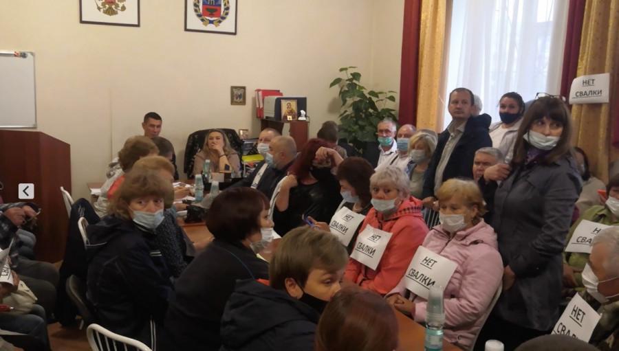 «Вы-хо-ди!». Почему жители пригородного района Барнаула восстали против экотехнопарка с полигоном