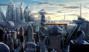 Город будущего.