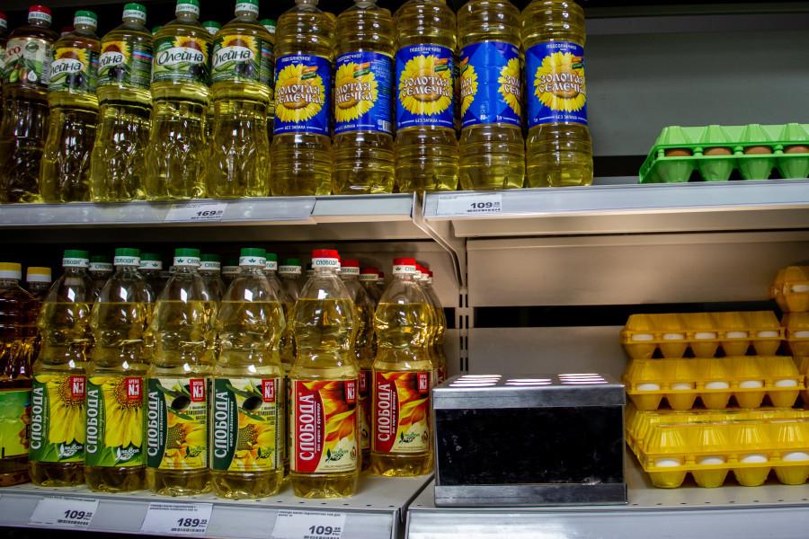 Цена на сахар и подсолнечное масло в Барнауле в конце июня 2021 года.