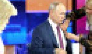 Прямая линия с Владимиром Путиным-2021.