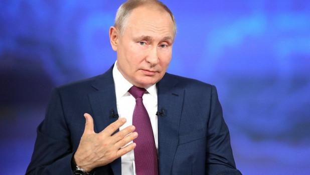 """Путин написал статью об Украине: """"Все больше убеждаюсь, что Киеву не нужен Донбасс"""""""
