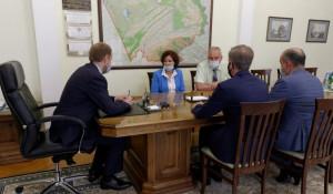 Встреча с гендиректором компании «Экспресс-тур» Татьяной Нешатаевой.