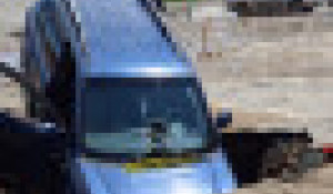 Провал авто в Барнауле. 2021 год.
