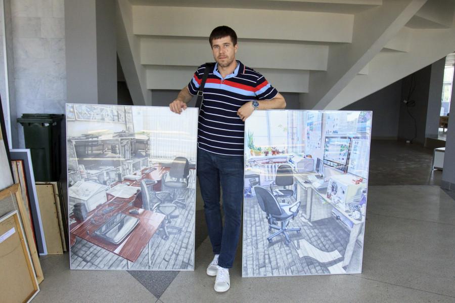"""В Барнауле отобрали картины для выставки """"Аз.Арт"""""""