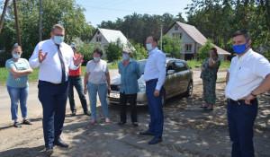 В поселке Пригородном обсудили ремонт дороги. Барнаул.