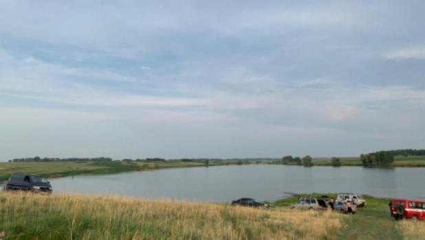 Искусственный пруд в Калманском районе