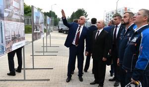 Владимир Путин встретился с губернатором Кузбасса Сергеем Цивилевым.