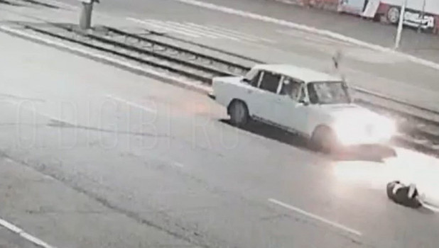 ДТП с пешеходом в Бийске.