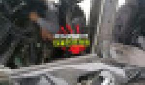 Микроавтобус врезался в стену магазина в Рубцовске.