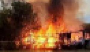 Пожар в Сорокино.