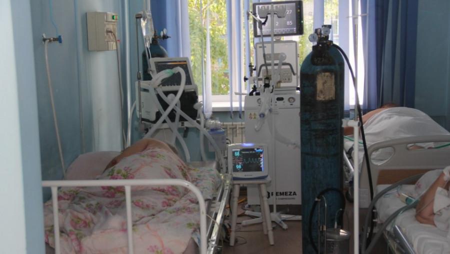 Коронавирус, больница.