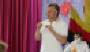 Александр Терентьев на встрече в Орловском ДК.