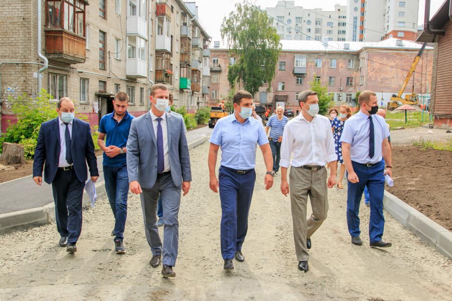 Реализация федерального проекта «Формирование комфортной городской среды»