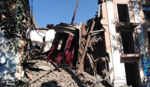 В Рубцовске рухнул шпиль.