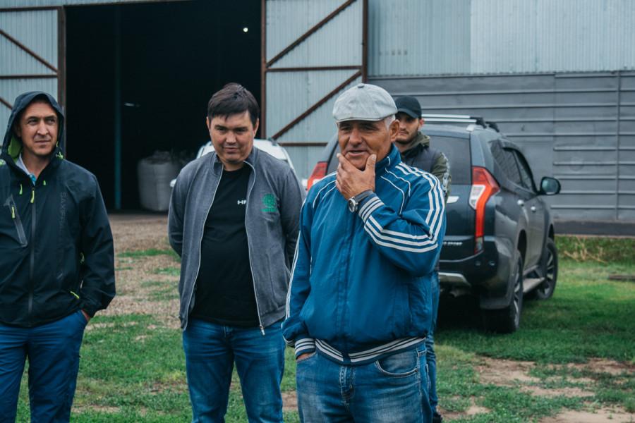 Семинар сельхозпроизводителей в селе Закладное Романовского района.
