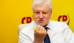 Сергей Миронов в Барнауле. Июль, 2021 год.