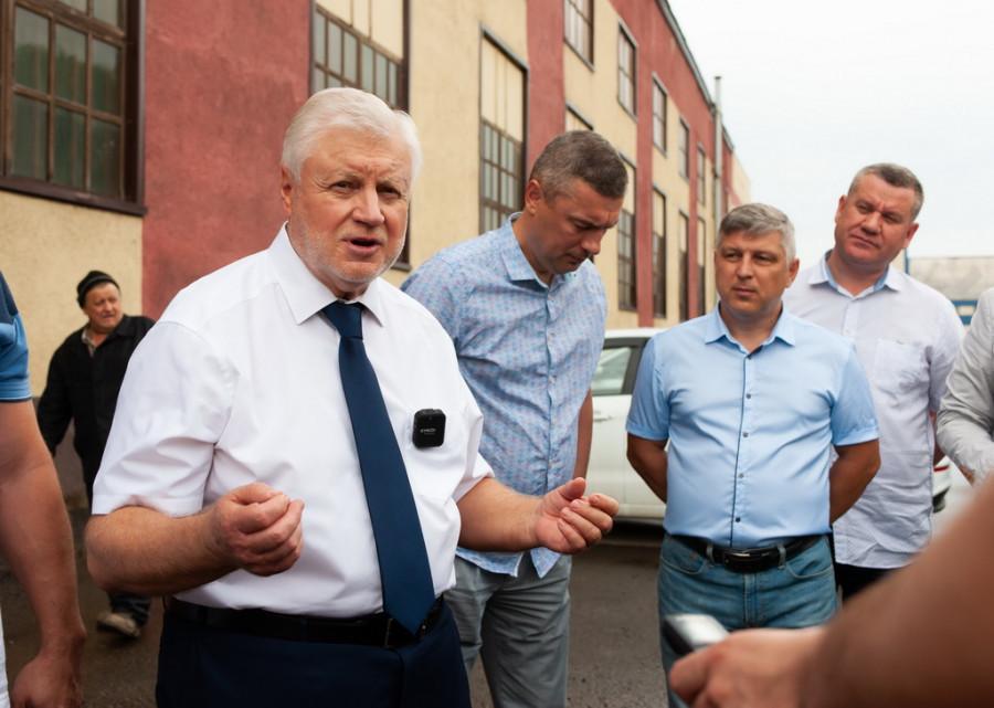 Рабочий визит на Алтай главы «Справедливой России — За правду» Сергея Миронова.