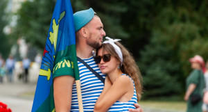 День ВДВ в Барнауле.
