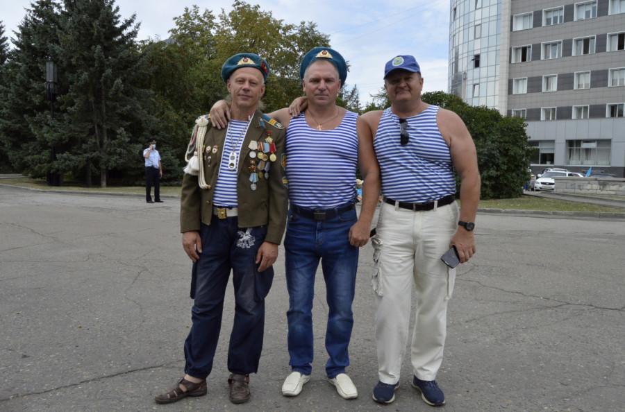 День десантника в Барнауле.